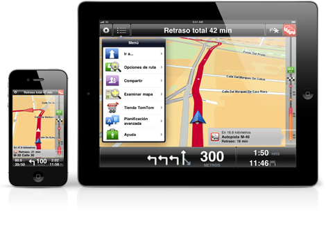 tomtom iPhone-iPad-ES