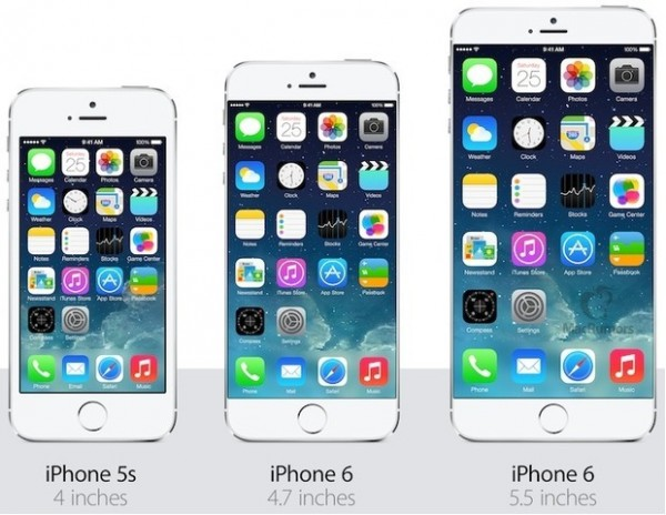 comparativa iPhone 6 y iphone 6 plus