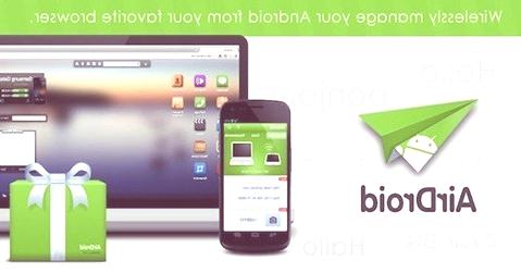 Conectar tablets  o smartphones al pc sin cables| AirDroid