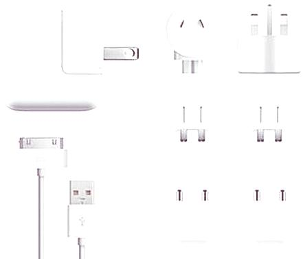 Adaptadores para Apple|Apple World Travel Adapter Kit