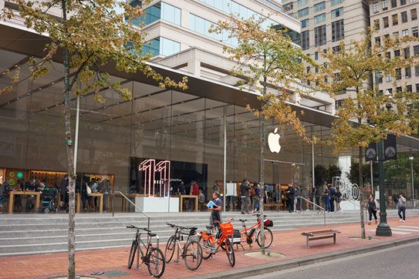 Usuarios de iphone y android en que se diferencian apple store ny