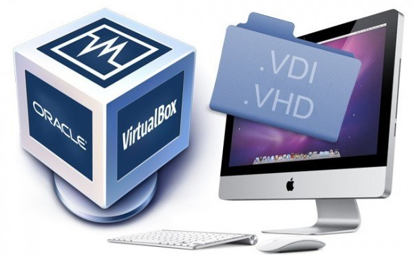 VirtualBox VDI VHD Mac OS X